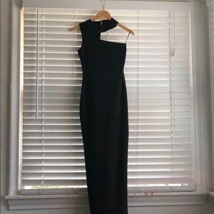 1a57c8c8f5 AQ AQ Long Black Dress